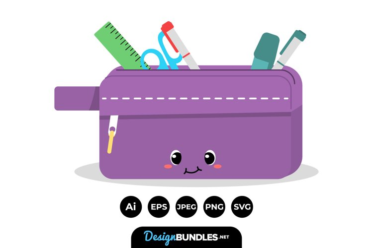 Pencil Case Clipart example image 1