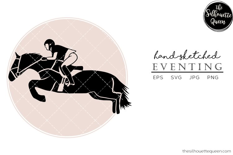 Hand drawn Eventing 2 Vector Sketch example image 1