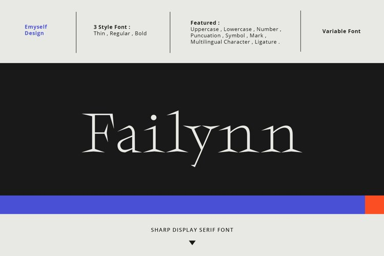 Failynn Font example image 1