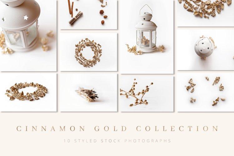 Gold Holiday Stock Photography Christmas Images Mockup
