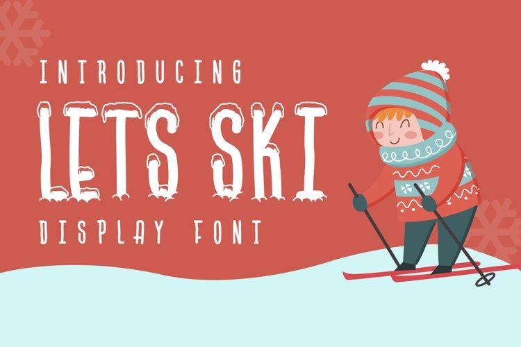 Lets Ski example