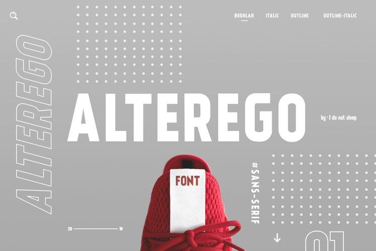 Alterego example image 1