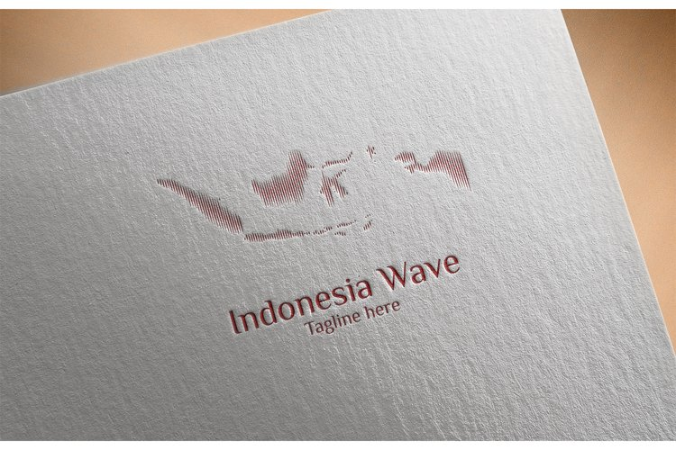 Indonesia Wave Logo example image 1