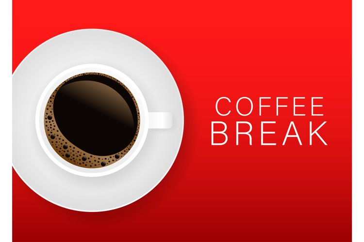 Coffee break Poster Advertisement Flayers. example image 1