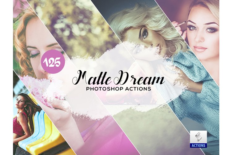 125 Matte Dream Photoshop Actions example image 1