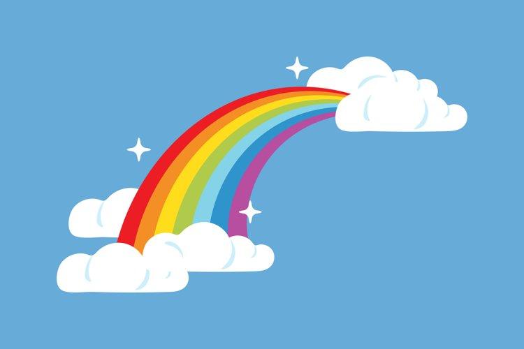 Rainbow Clipart example image 1