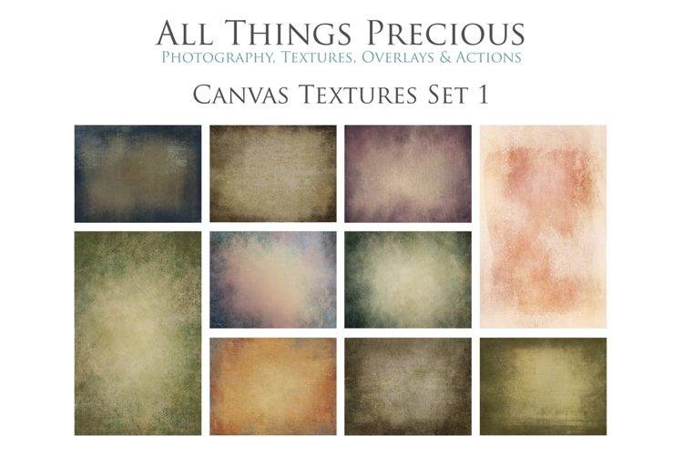 10 Fine Art Textures CANVAS - SET 1 example image 1