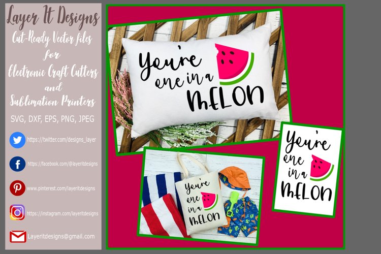 You're one in a Melon Design File example image 1