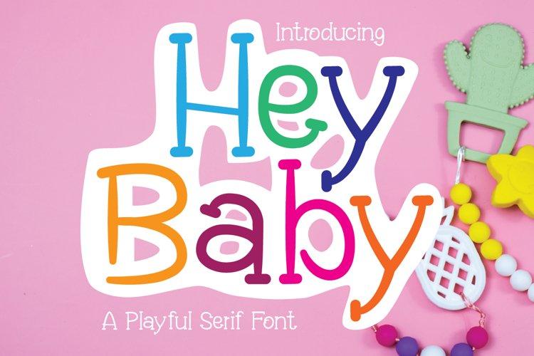 Hey Baby example image 1