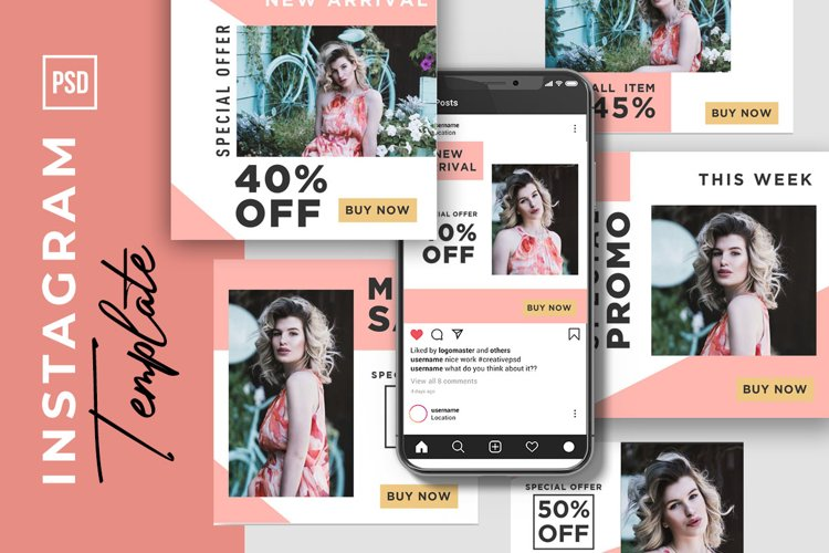 fashion sale minimalist and clean example image 1
