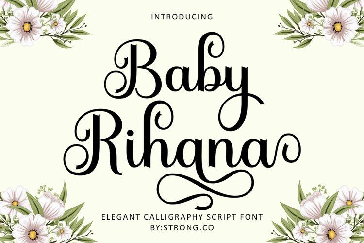 Baby Rihana example image 1