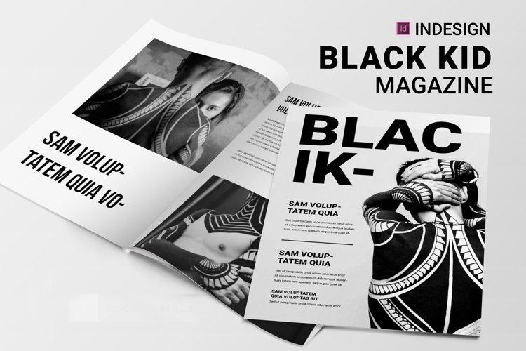 Black Id   Magazine example image 1