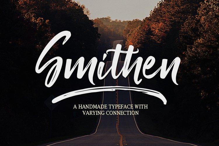 Smithen Script example image 1