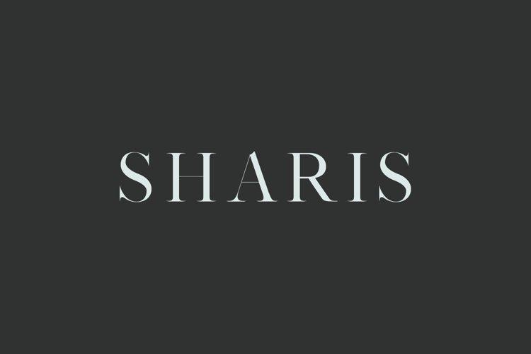 Sharis Serif Typeface example image 1