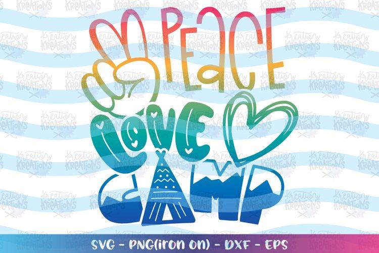 Download Camping Svg Peace Love Camp Svg 723226 Svgs Design Bundles