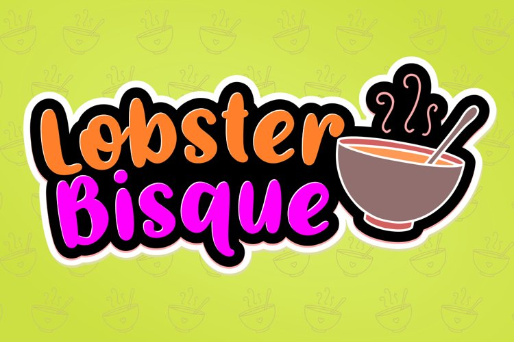 Lobster Bisque example image 1