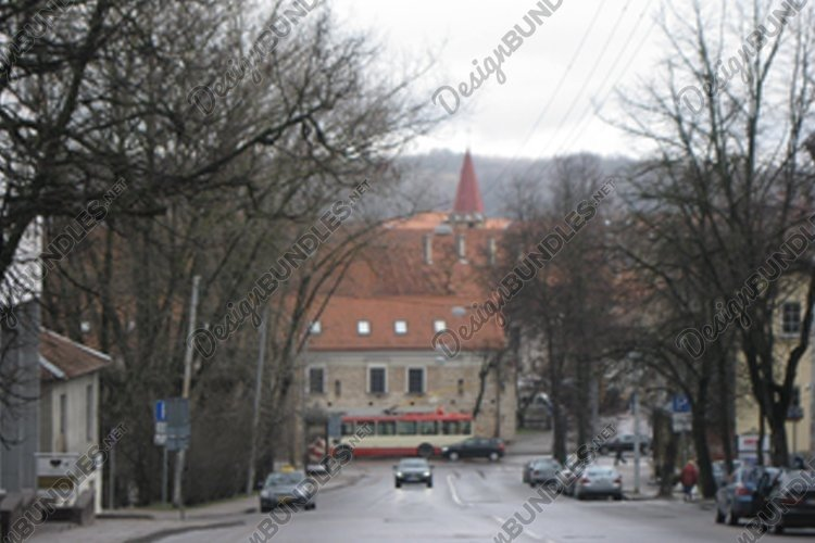 Autumn in a European town example image 1