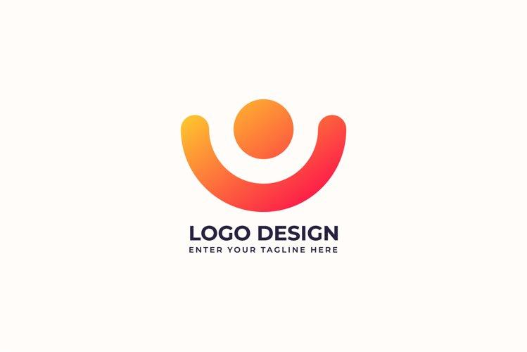 Creative people logo vector design example image 1