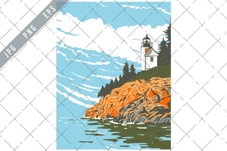 Mount Desert Island in Hancock County Off the Coast of Maine example image 1