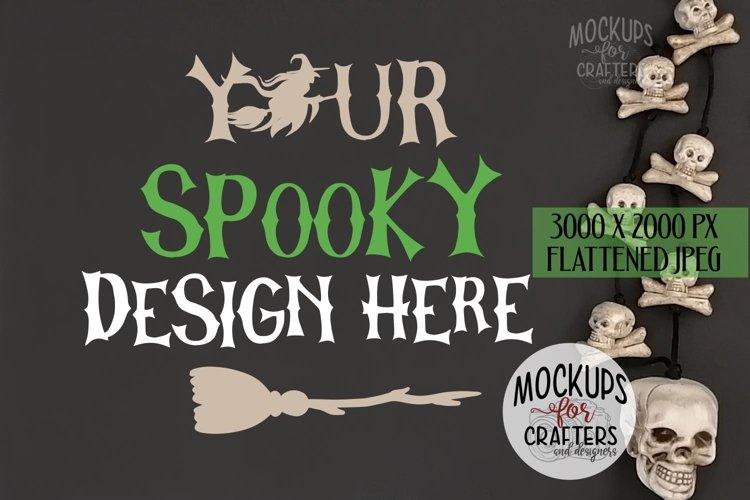 Styled Background, chalkboard, Halloween theme