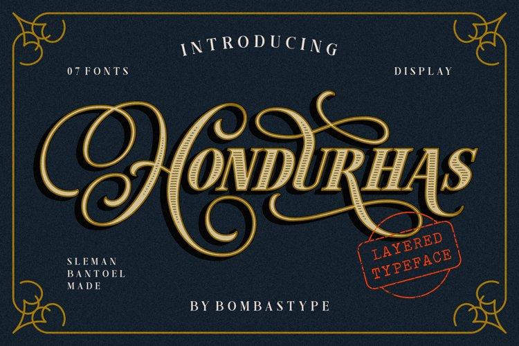 Hondurhas Layered example image 1