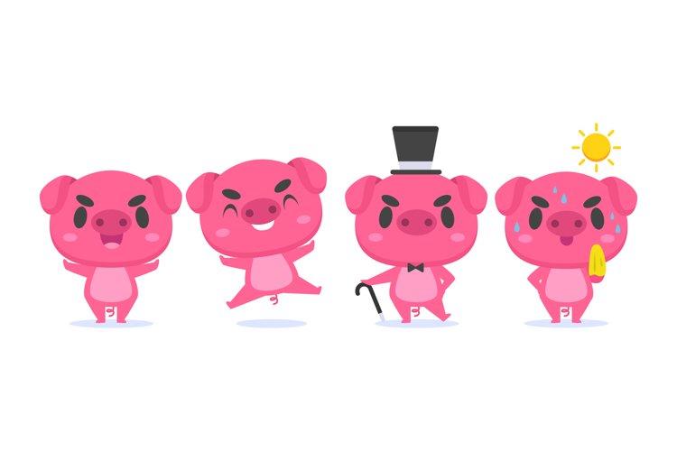 Pig Illustrations