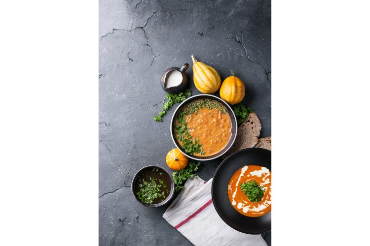 Pumpkin cream soup