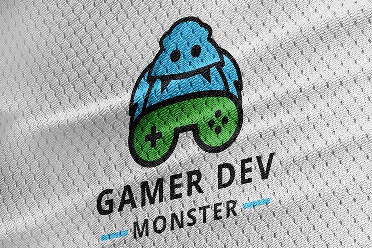 Monster Gamer Logo