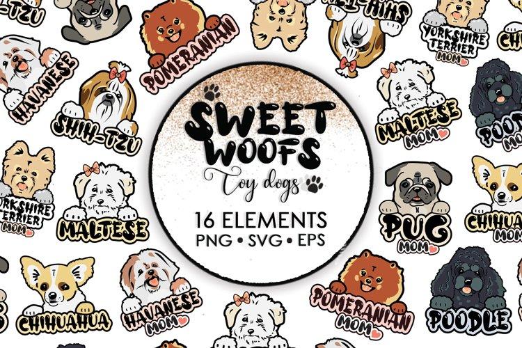 Shih Tzu Svg, Dog Clipart, Dog Svg, Sublimation Bundle example image 1