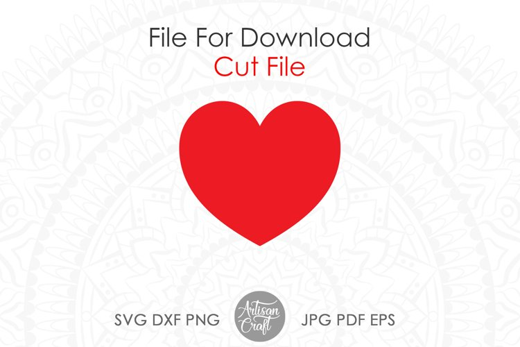 Heart SVG & PNG Clipart example 4