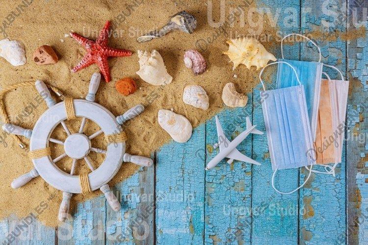 Summer vacation after coronavirus pandemic crisis beach example image 1