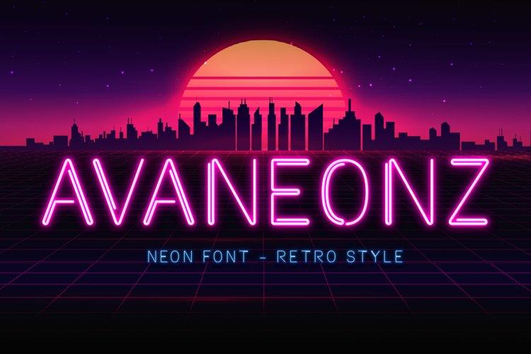 Avaneonz example image 1