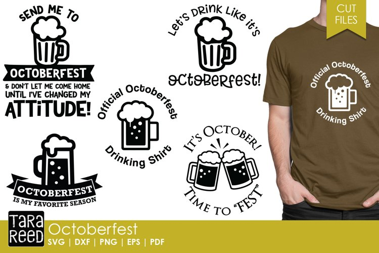 Octoberfest SVG and Cut Files for Crafters
