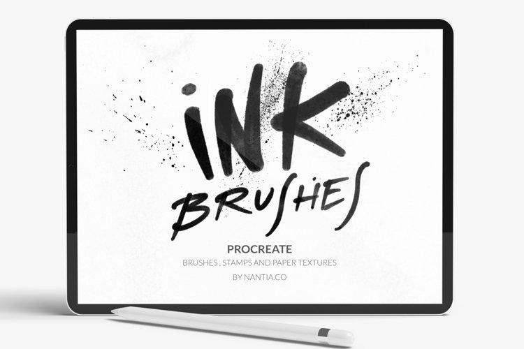 Ink Brushes and Stamps for Procreate
