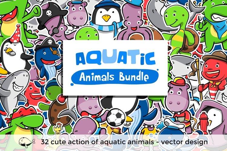 Aquatic Animals Bundle