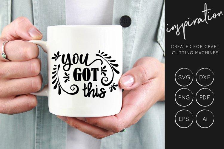 Inspirational Quotes SVG Cut File Bundle - Design Collection - Free Design of The Week Design13