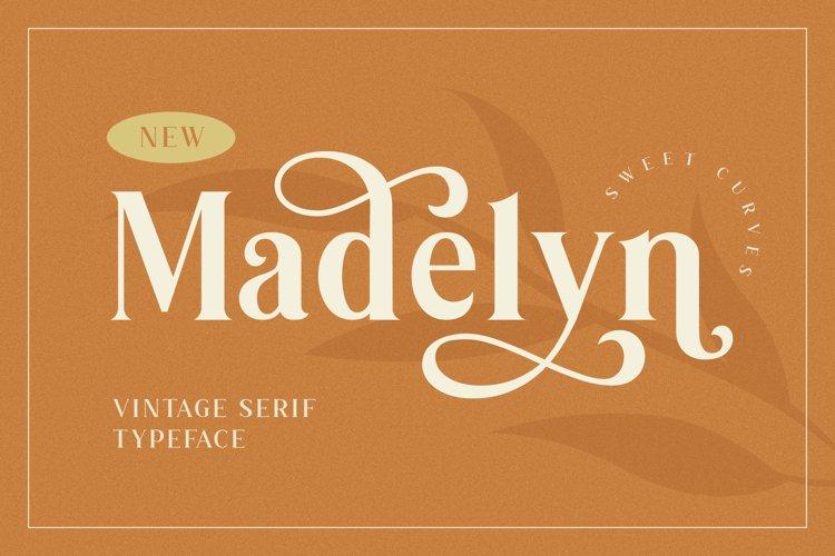 Madelyn Vintage Serif Font example image 1
