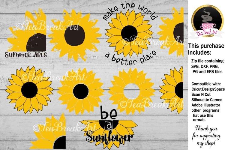 Sunflower Set Cutting File 1129