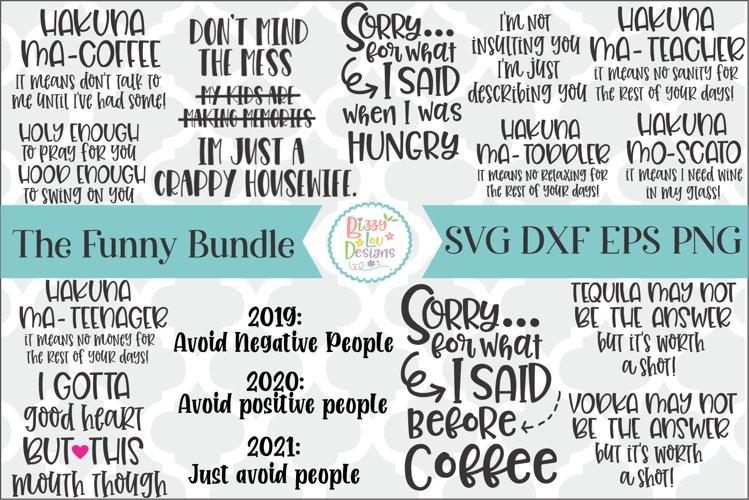 Funny SVG Bundle Cutting File