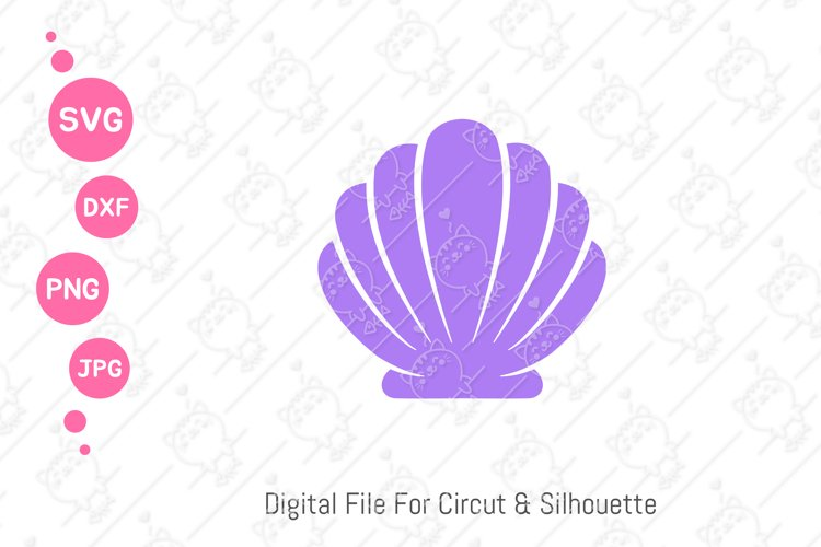 Shell SVG  Seashell PNG   Mermaid Shell SVG   svg dxf png