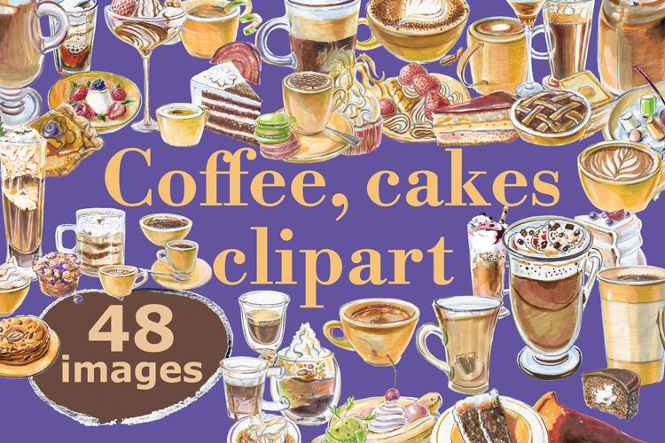 Coffee and cakes bundle