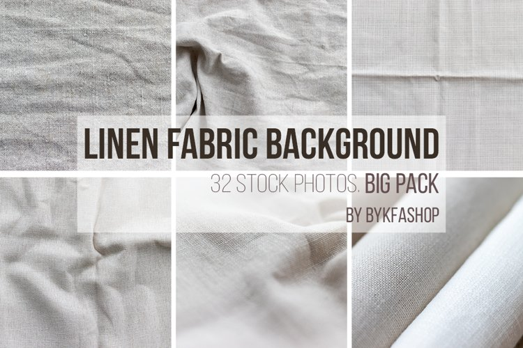 Natural linen fabric background texture Bundle example image 1
