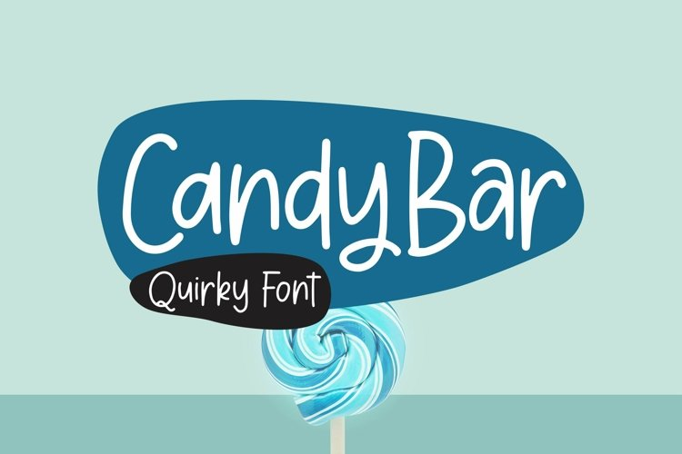 Web Font CandyBar - Quirky Font example image 1
