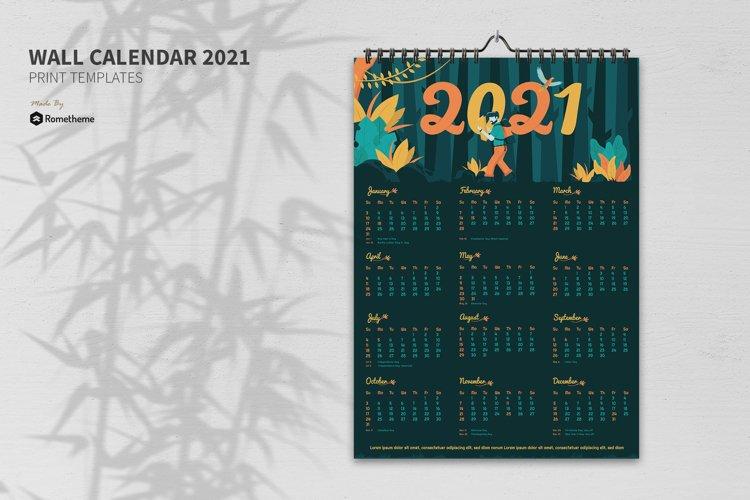 Tropical - Creative Calendar 2021 GR example image 1