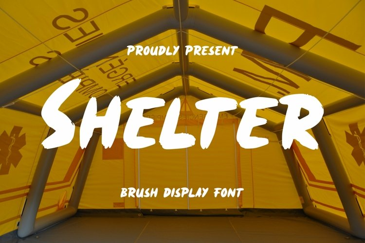 Web Font Shelter Font example image 1