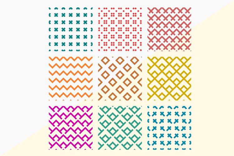 9 Seamless SVG Pattern Background