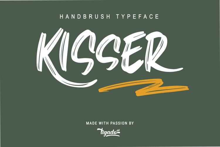 Kisser Webfonts example image 1