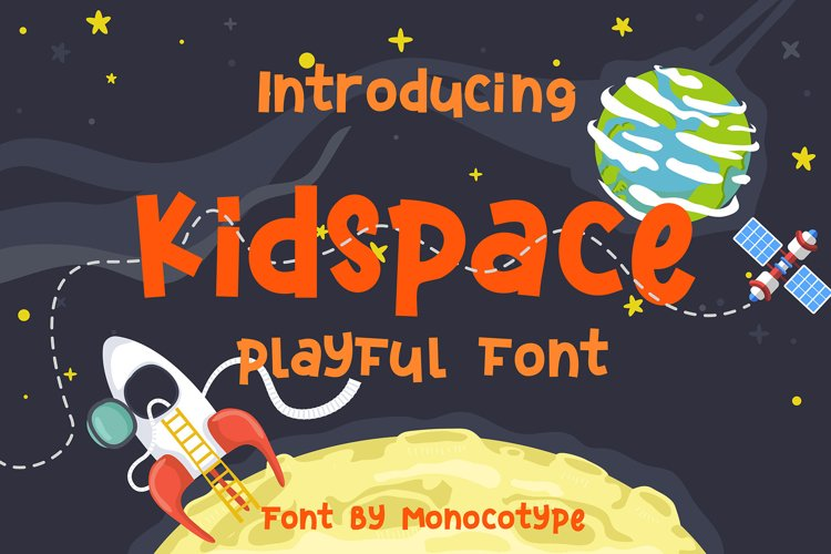 Kidspace - Playful Font example image 1