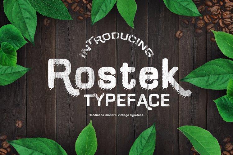 Rostek Old Typeface example image 1