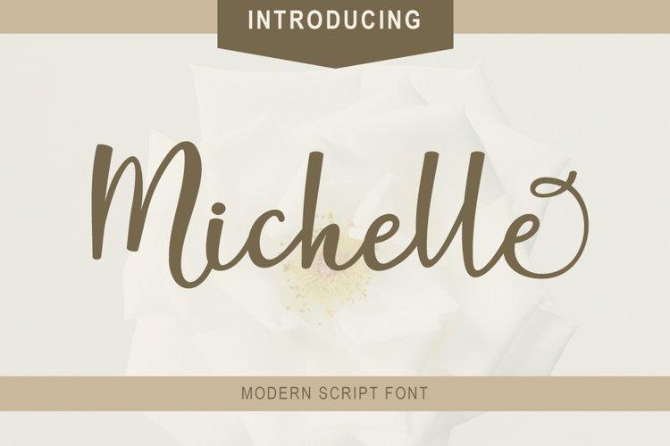Michelle Script example image 1